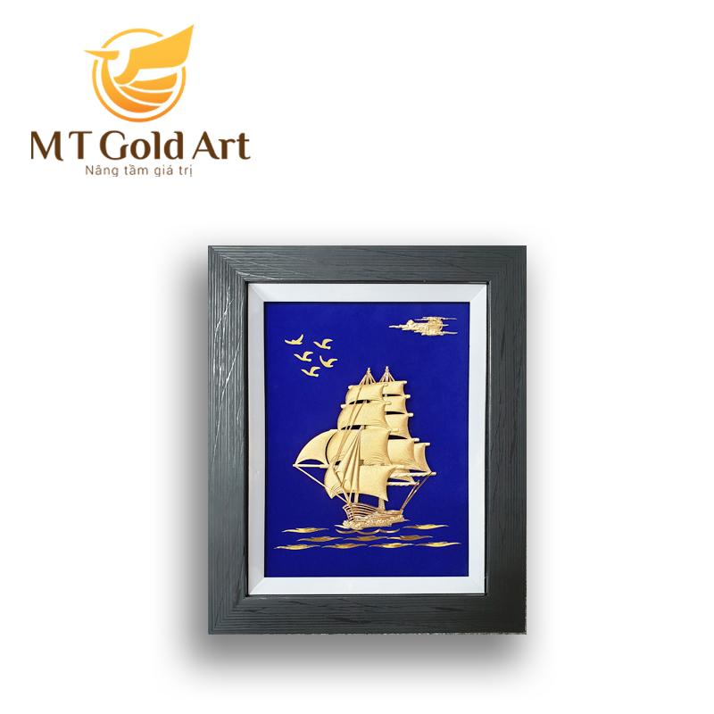 tranh mạ vàng 24k